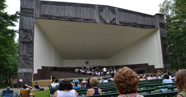 Music summer camps in new england