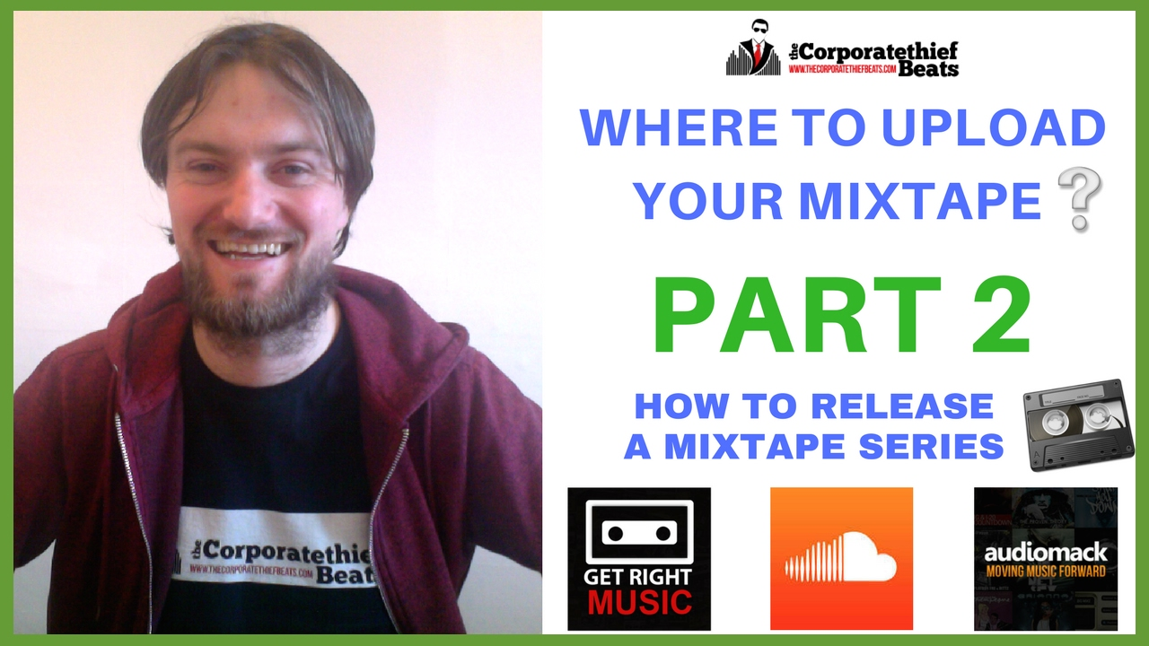 How to upload mixtape to soundcloud