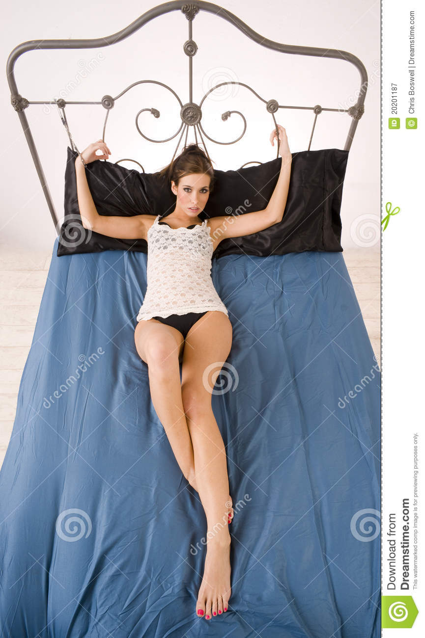 Women tied to beds