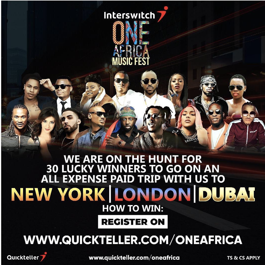 Interswitch one africa music fest new york