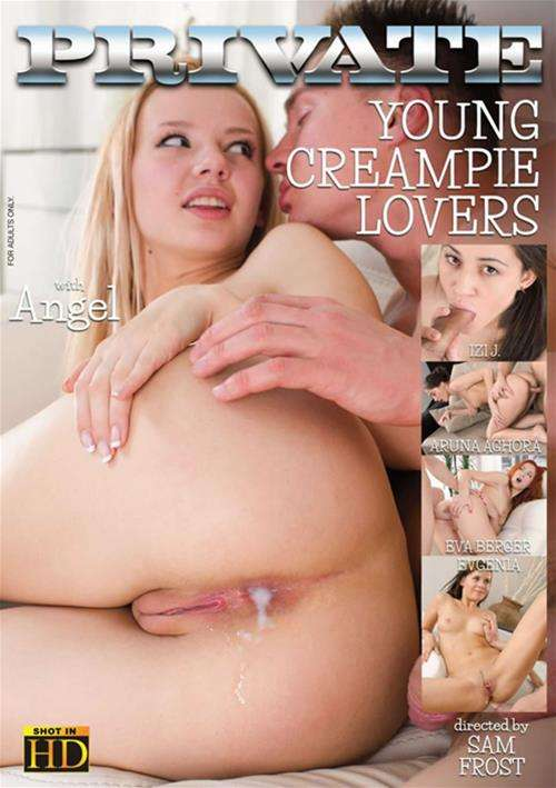 Young lovers creampie