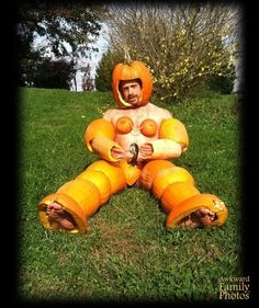 Naked pumpkin sexy costume