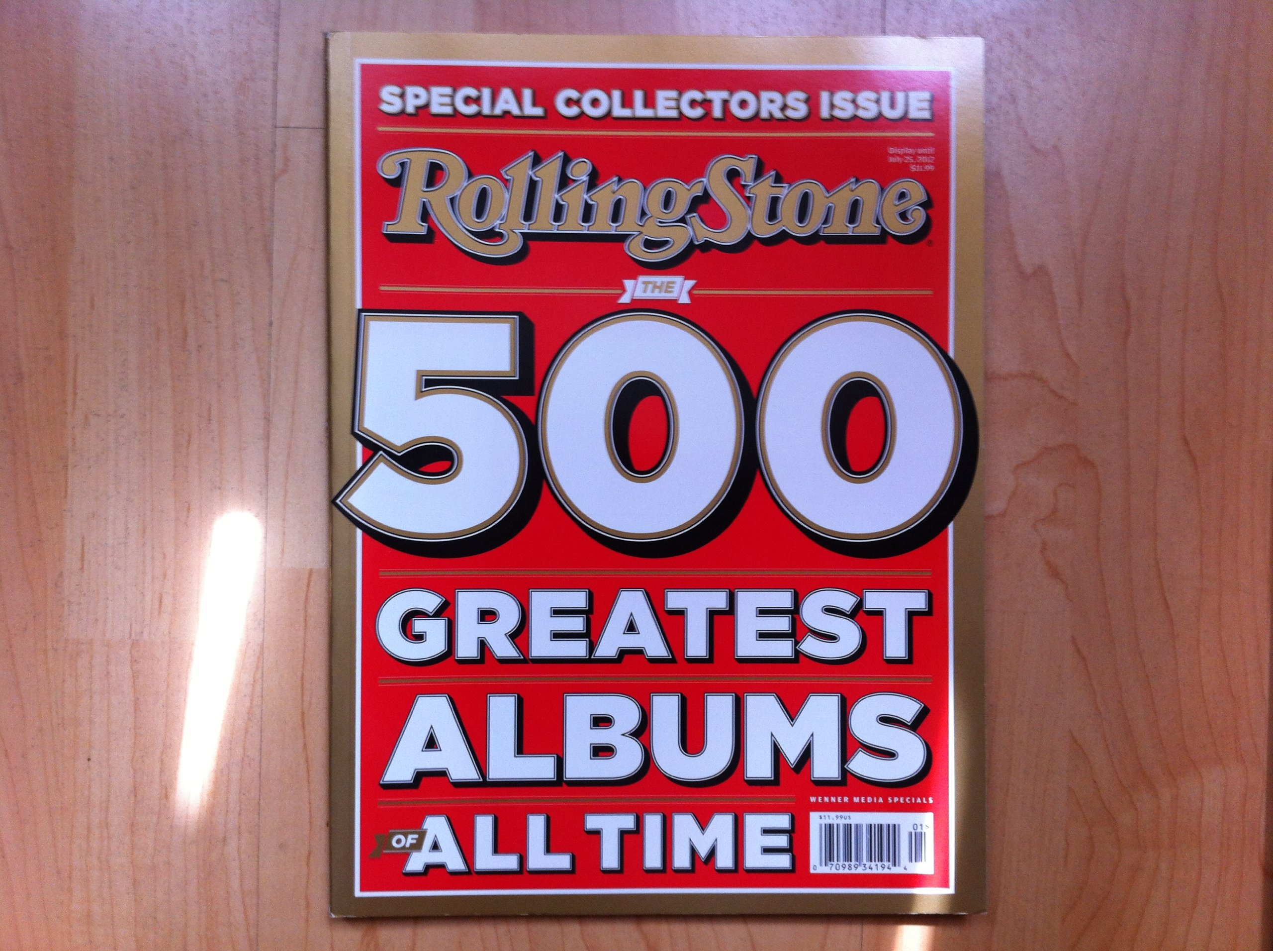Rolling stone best albums 2012