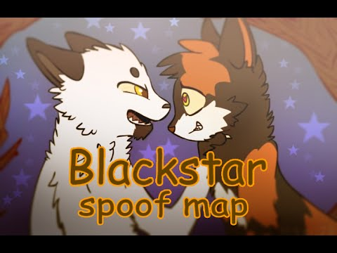 Warrior cats spoof map